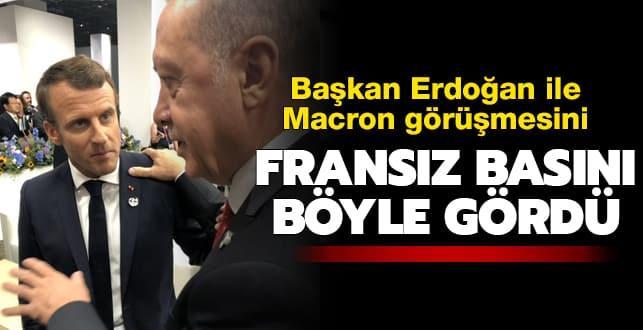 Fransız basını kritik görüşmeyi böyle gördü: Erdoğan, Macron'u 'yapıcı tutum' benimsemeye çağırıyor