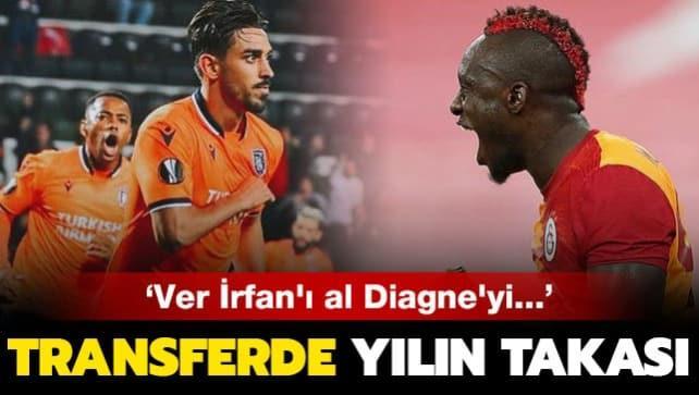 Süper Lig'de yılın takası: İrfan Can-Diagne