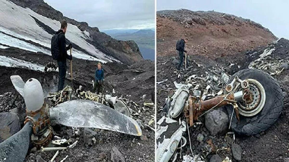 İzlanda'da İkinci Dünya Savaşı'nda düşen ABD uçağının enkazı bulundu