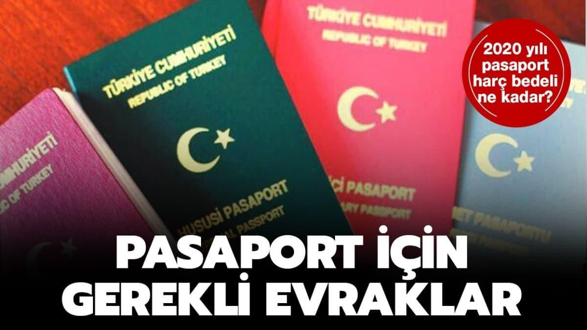 """Pasaport randevu ekranı! Pasaport ücretleri 2020 ne kadar, nasıl çıkartılır"""""""