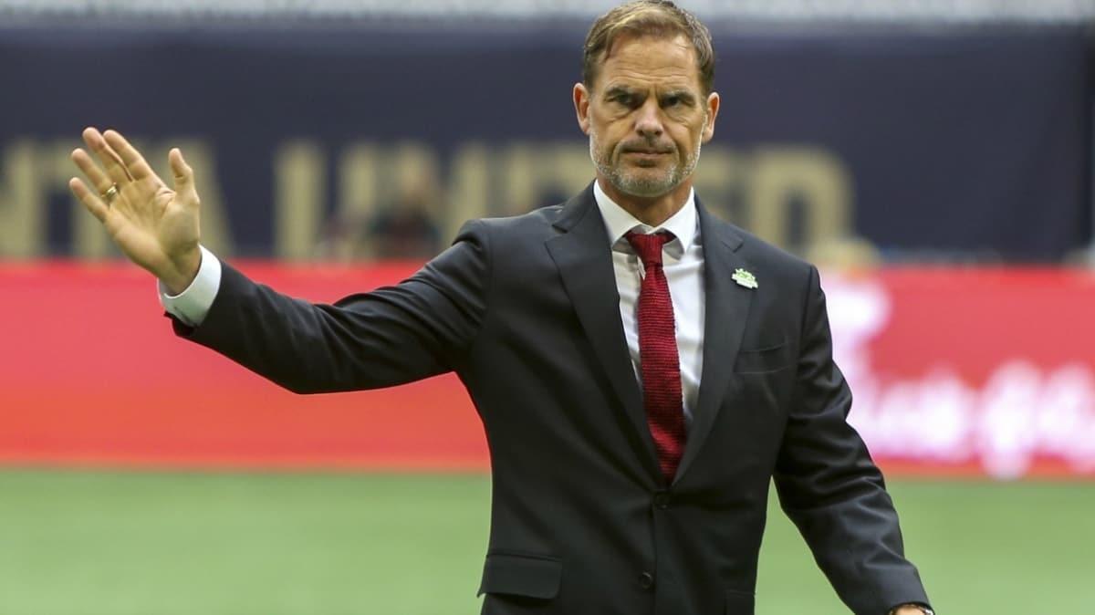 Hollanda milli takımının yeni teknik direktörü Frank de Boer oldu