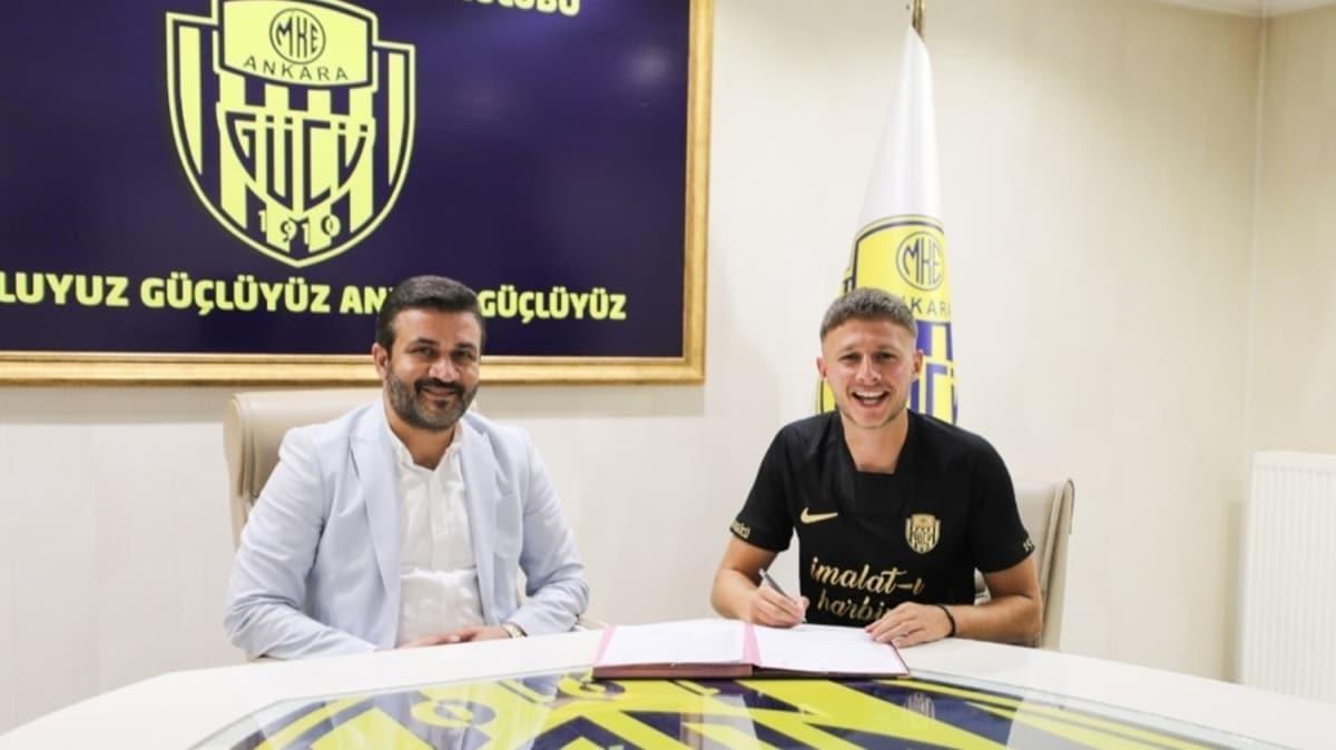 MKE Ankaragücü, Kosovalı milli oyuncu Idriz Voca ile anlaştı