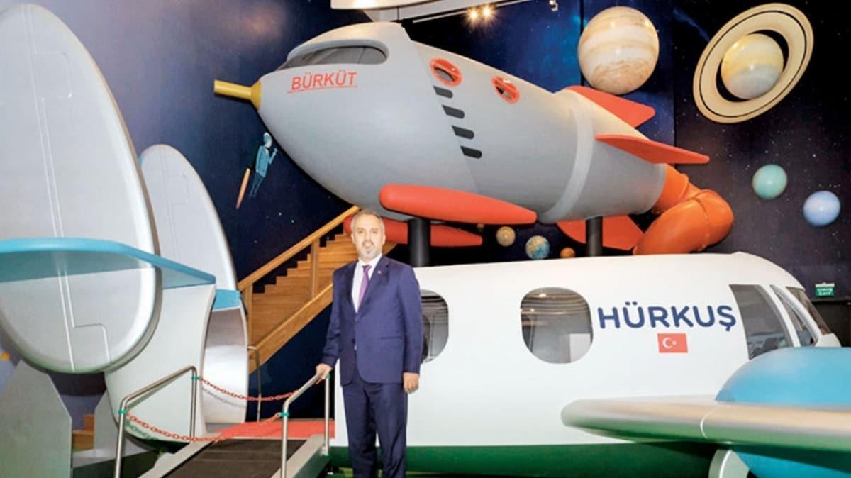 Bursa'nın uzay merkezi açılışa hazırlanıyor