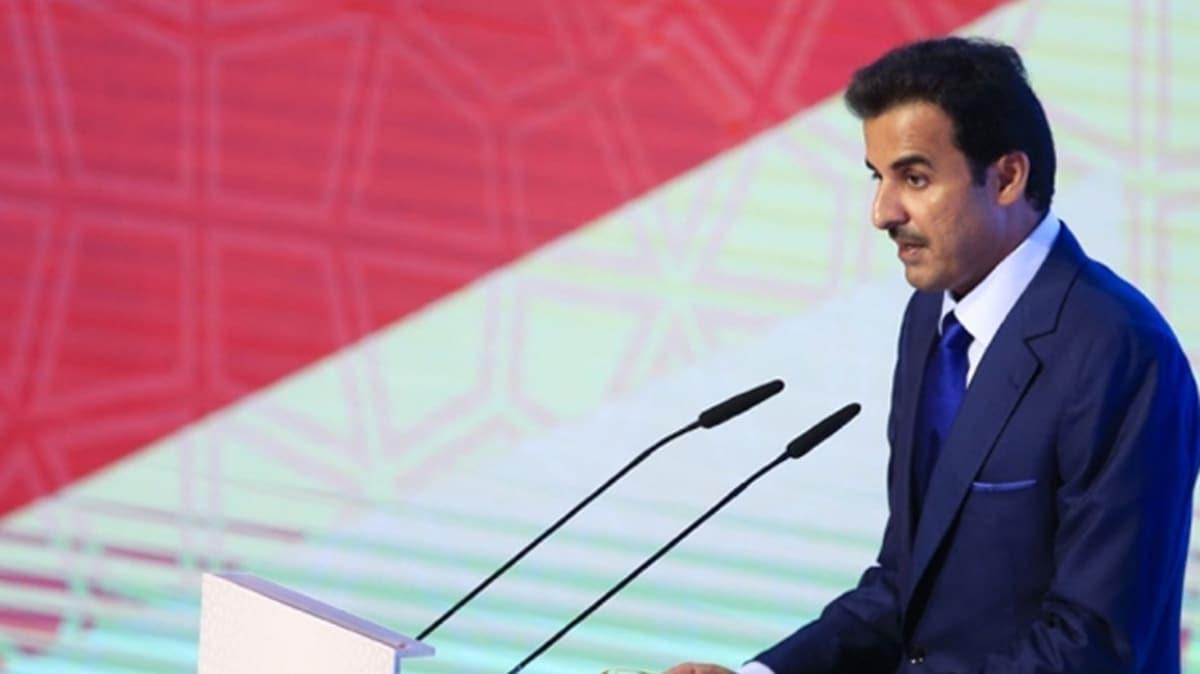 Katar Emiri'nden BM'de sert İsrail tepkisi: Uluslararası toplumun acizliğini kınadı