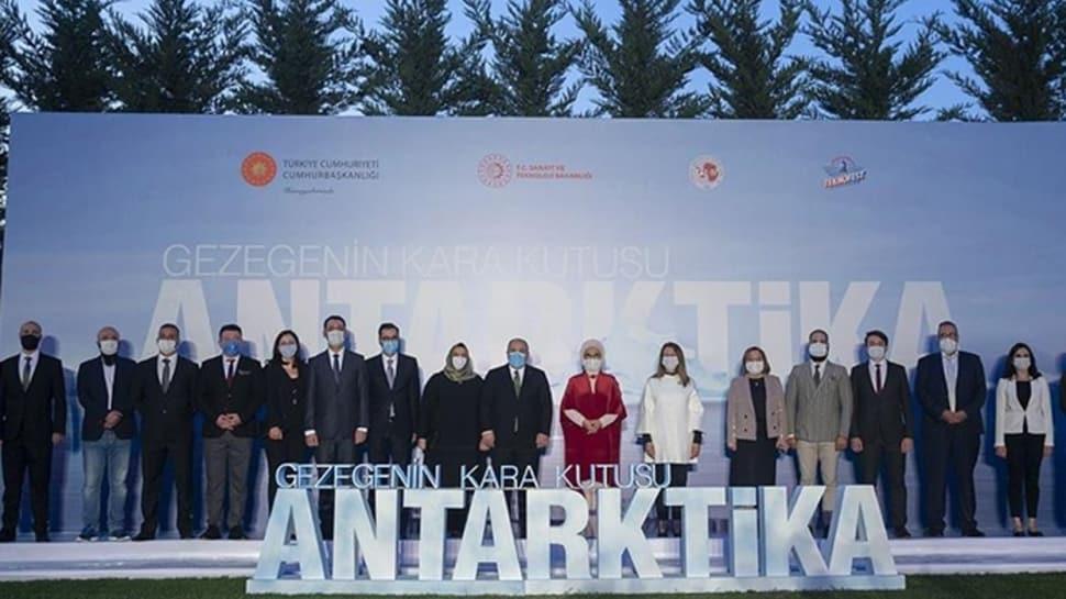 'Gezegenin Kara Kutusu: Antarktika' belgeselinin ilk gösterimi yapıldı