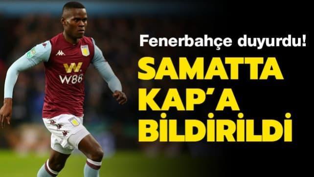 Fenerbahçe'den KAP'a transfer açıklaması