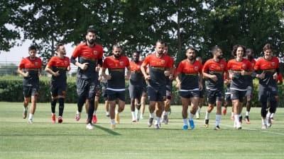 Kayserispor'da Erzurumspor maçı hazırlıkları sürüyor