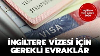 İngiltere vize ücreti 2020 ne kadar? İngiltere vize başvurusu nasıl yapılır?