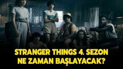 Stranger Things 4. yeni sezon fragmanı! Stranger Things 4. sezon ne zaman başlayacak, tarih belli oldu mu?
