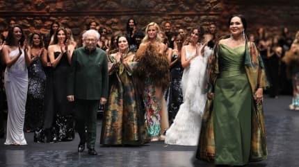 Yıldırım Mayruk modaya Türkan Sultanla veda etti