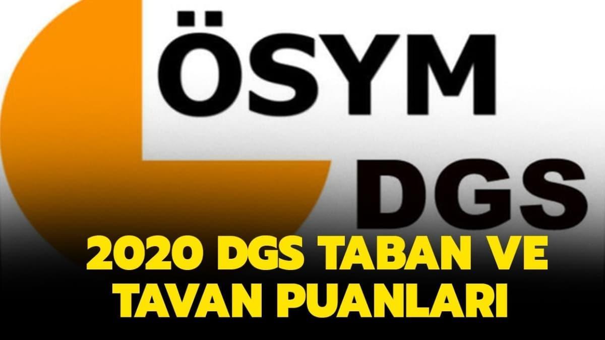 """DGS başarı sıralamaları nasıl"""" DGS taban ve tavan puanları listesi 2020 yayında"""