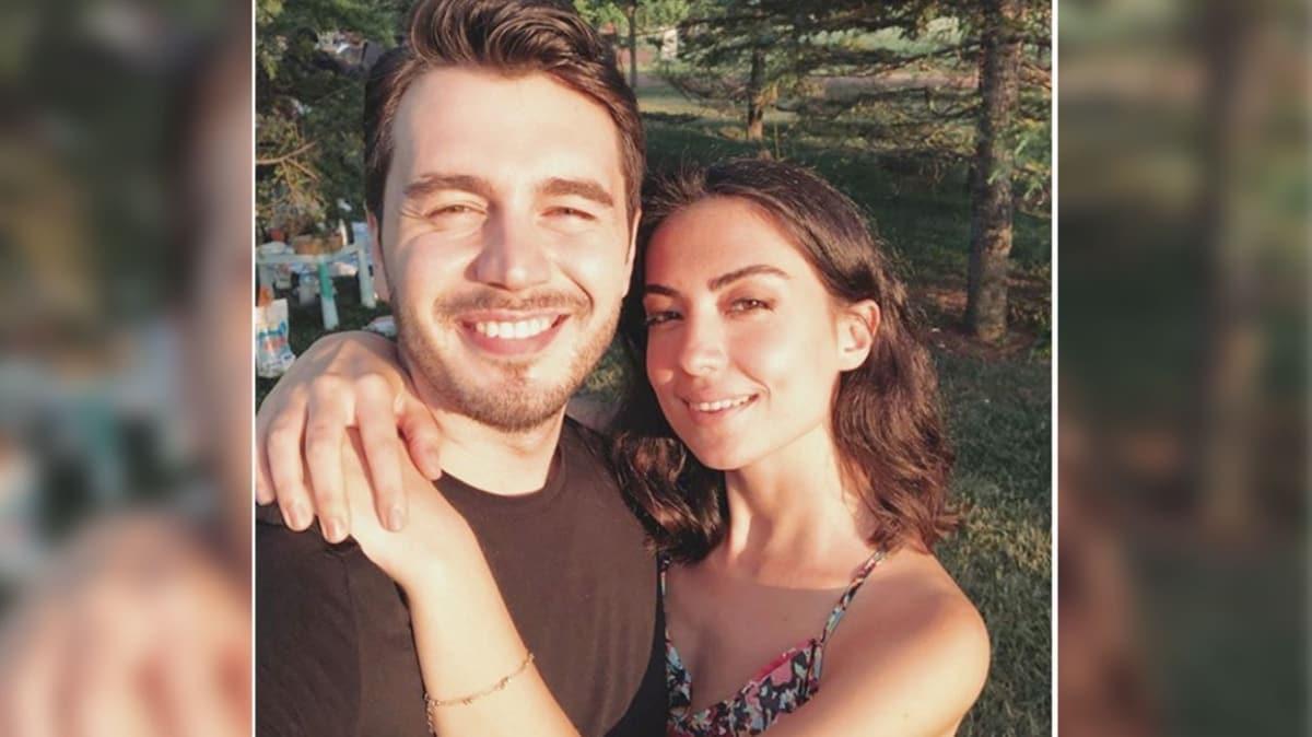 İsmail Ege Şaşmaz sevgilisi Hande Ünal ile evlilik için ilk adımı attı