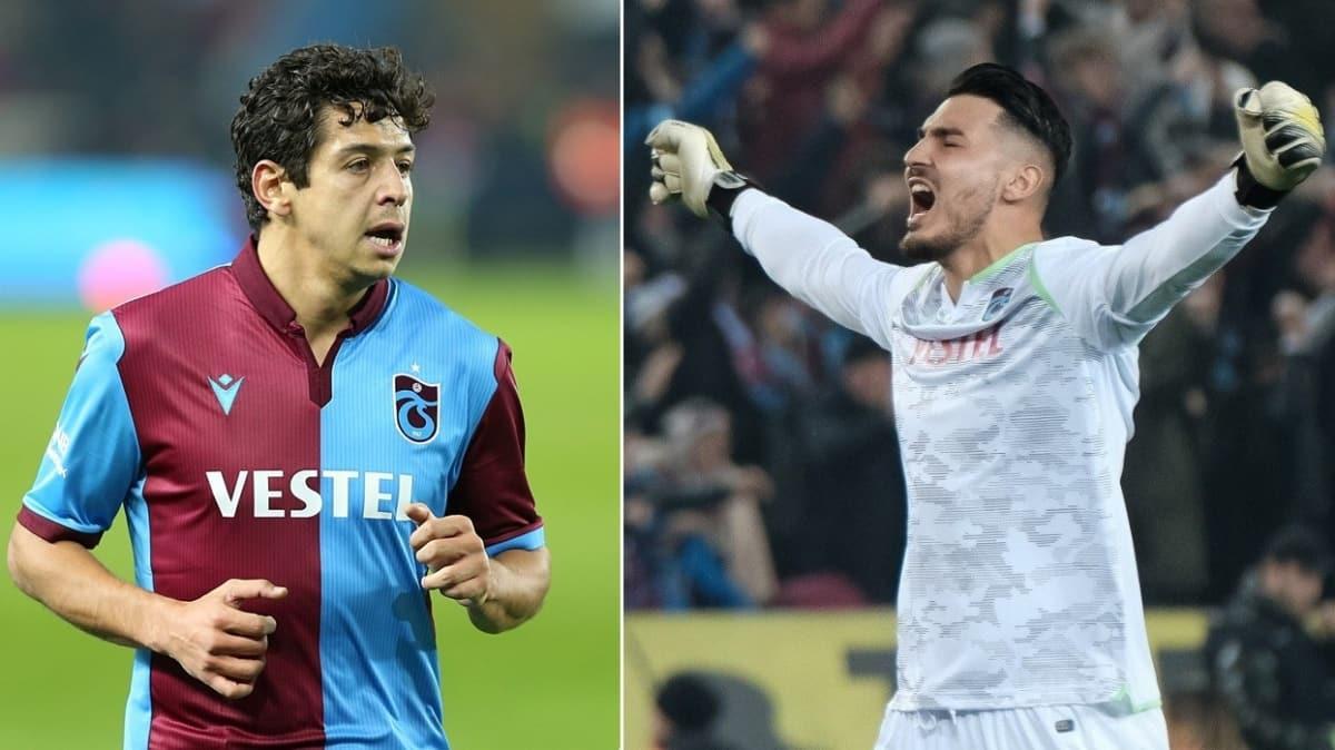 Trabzonspor'da Uğurcan Çakır ve Guilherme'nin ayrılığı an meselesi