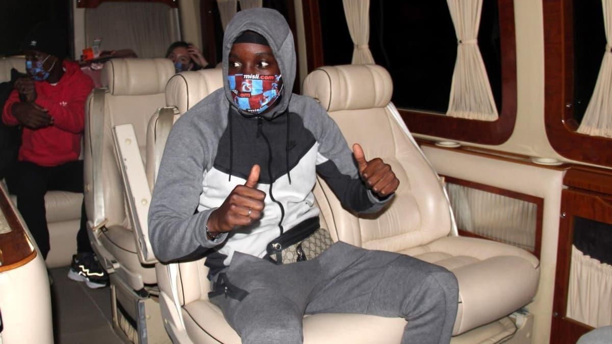 Malili kanat oyuncusu Fousseni Diabate, Trabzon'a geldi