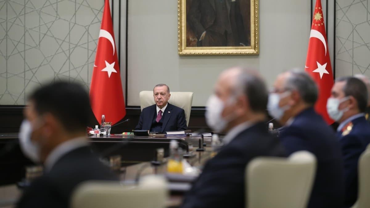 """MGK'dan """"Doğu Akdeniz"""" mesajı: Türkiye haklarından taviz vermeyecek"""