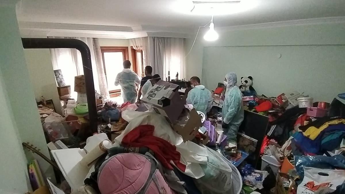 Bursa'da ilginç olay: Bir evden 3 günde 10 kamyon eşya çıkarıldı