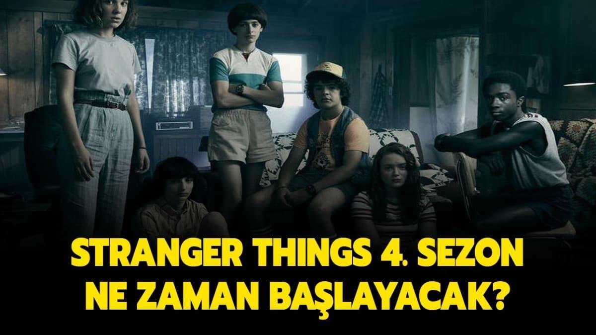 Stranger Things 4. sezon bekleyişi sürüyor