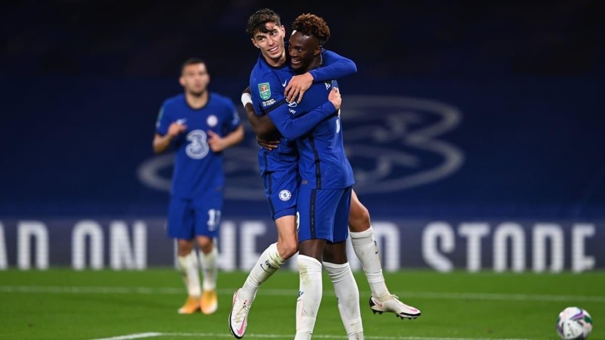 Chelsea kupada güle oynaya tur atladı: 6-0