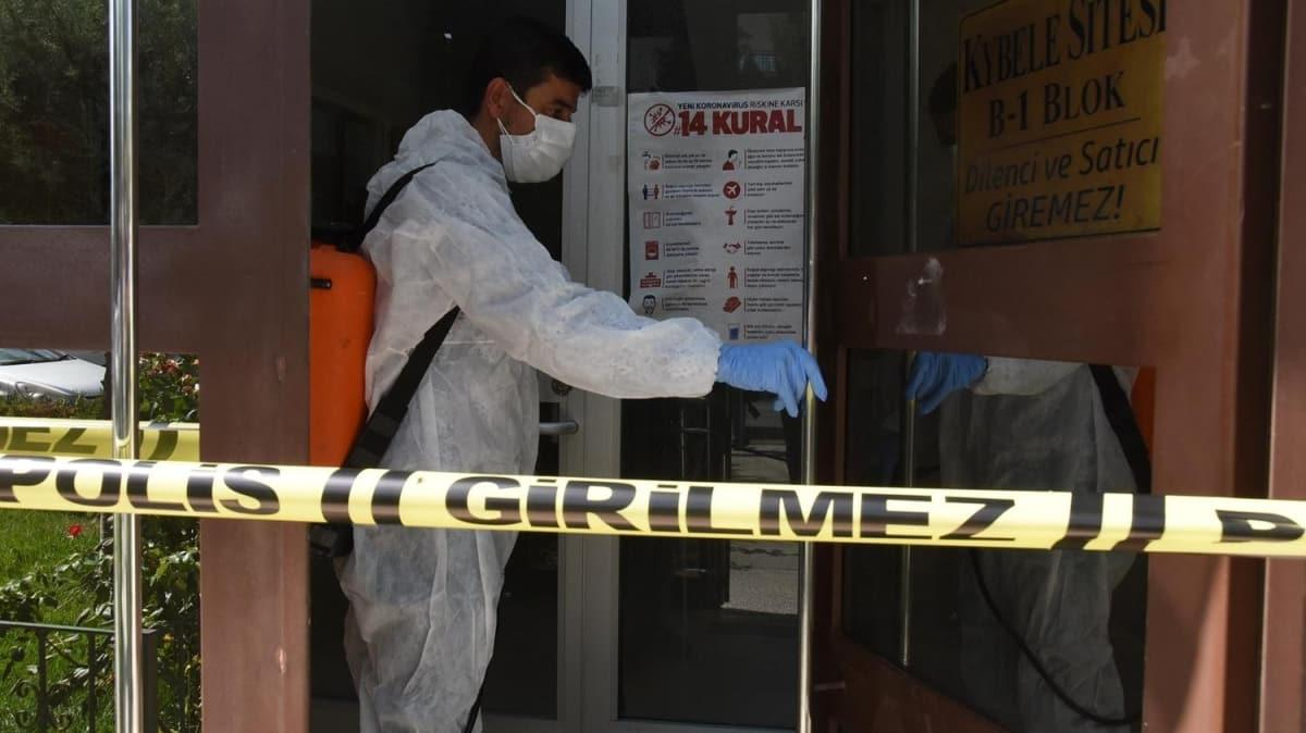 Apartman görevlisi koronavirüs testi pozitif çıktı: 500 kişi karantinaya alındı