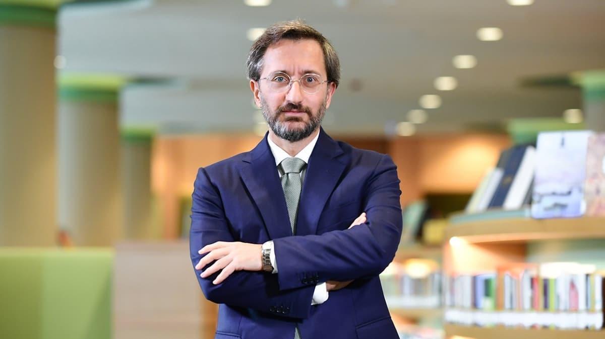İleşim Başkanı Altun'dan Doğu Akdeniz açıklaması