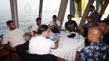 Fenerbahçe'den derbi öncesi Boğaz turu