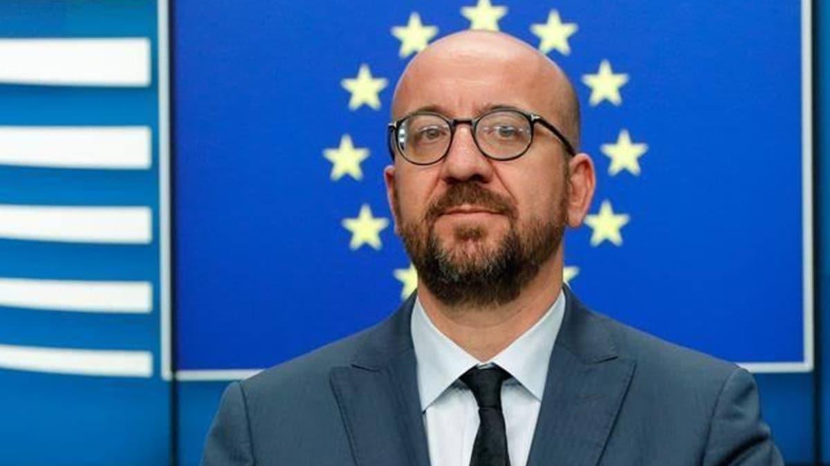 """AB Konseyi Başkanı Michel'den Doğu Akdeniz açıklaması: """"Görüşmeye hazırız"""""""