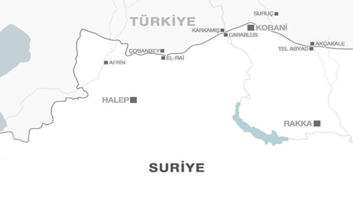 """Kobani (Ayn el Arab) nerede, hangi ülkede"""" Kobani ne demek"""""""