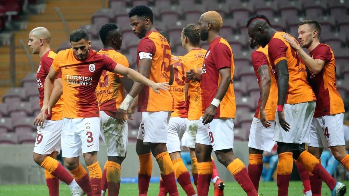 Galatasaray, yoluna kayıpsız gidiyor