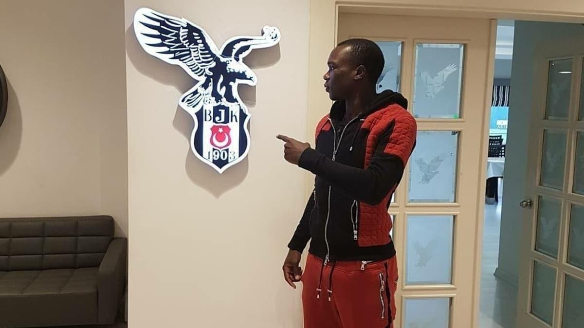 Beşiktaş, Vincent Aboubakar ile 1+1 yıllık sözleşme imzaladı