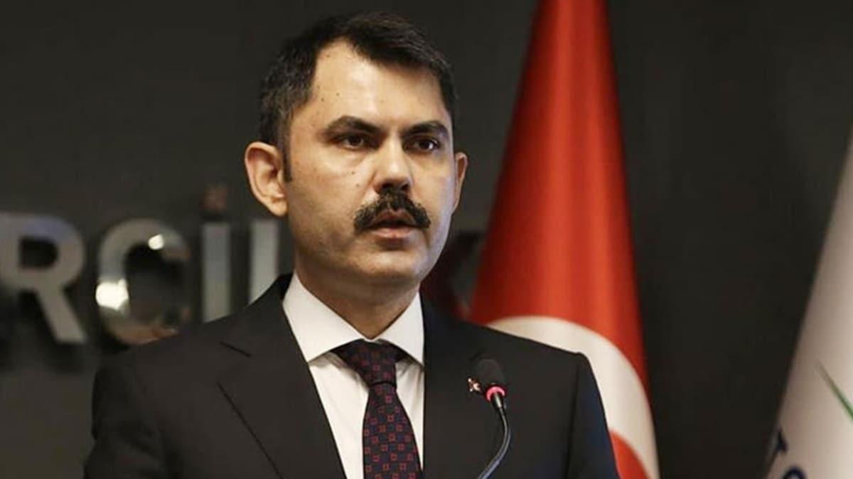 Çevre ve Şehircilik Bakanı Kurum'dan İstanbul'daki depremle ilgili açıklama