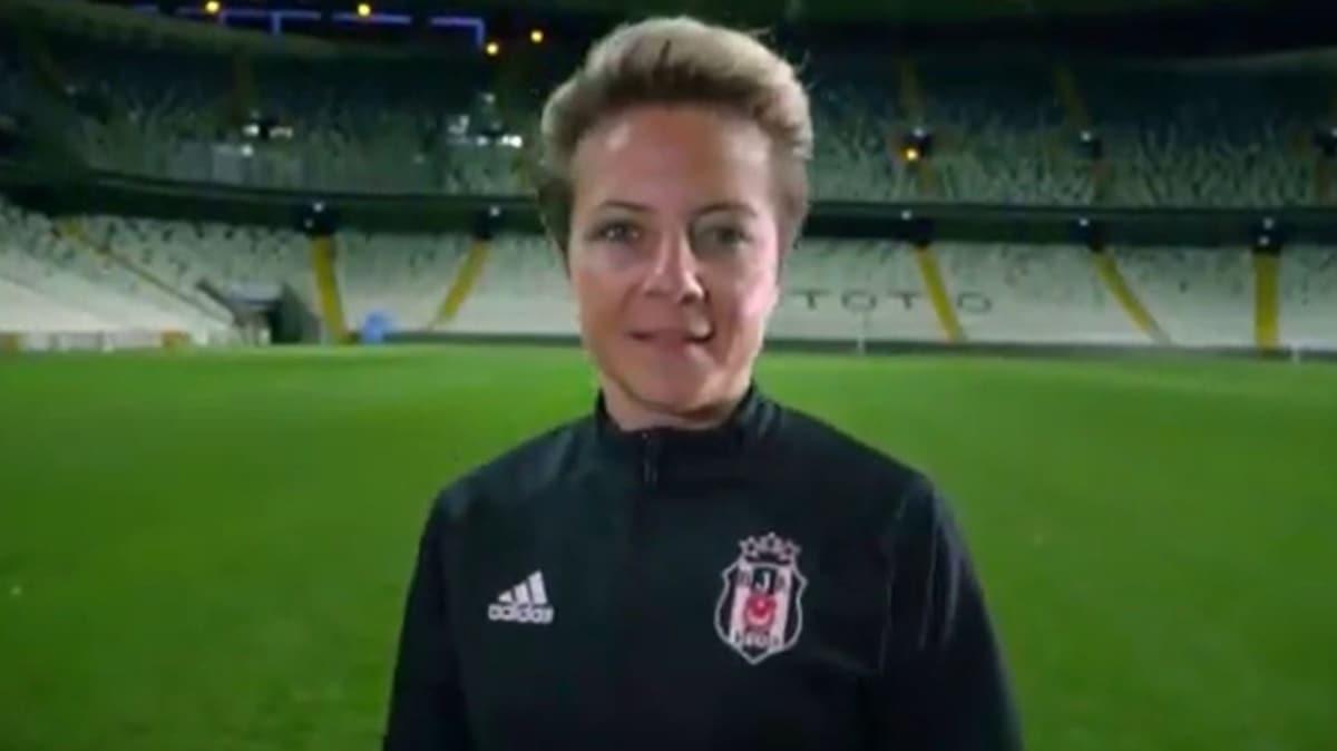 Beşiktaş Kadın Futbol Takımı'nın yeni teknik direktörü Bahar Özgüvenç oldu