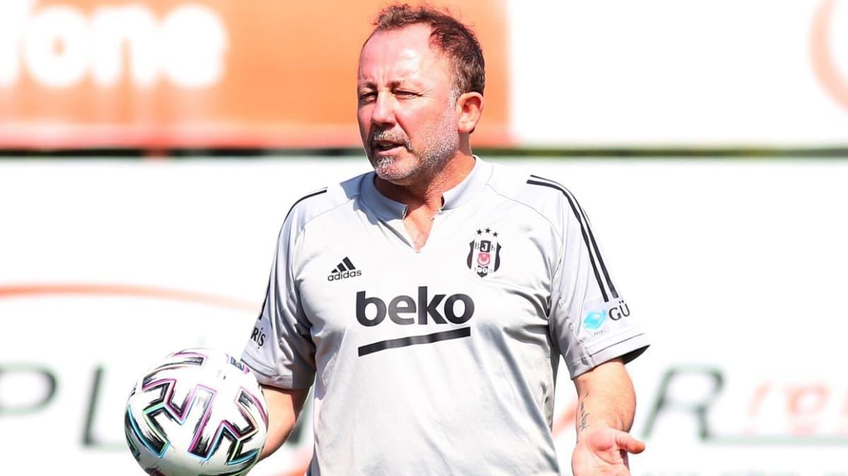 Beşiktaş'ta Sergen Yalçın takımın başına döndü