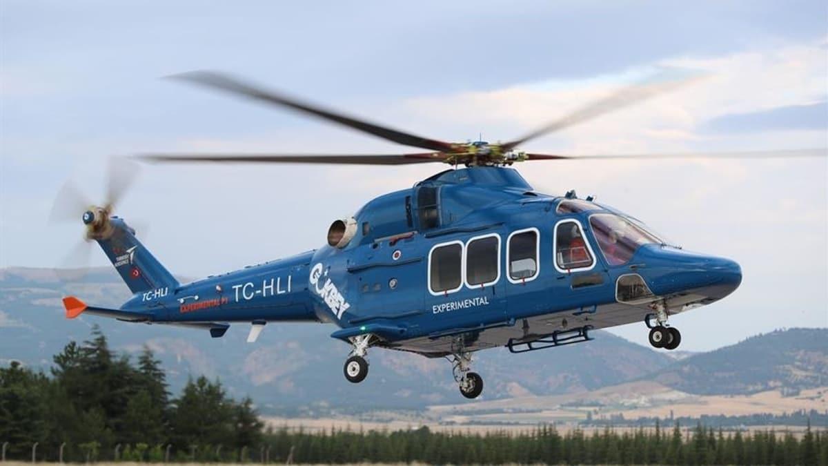 Milli helikopter için yeni gelişme... Gökbey yerli motorla havalanacak