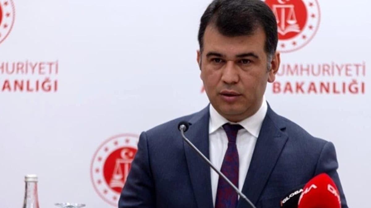 Adalet Bakanlığı Sözcüsü Çekin'den Selefi grupları açıklaması: 4 bin 134 kişi hakkında mahkumiyet kararı verilmiştir