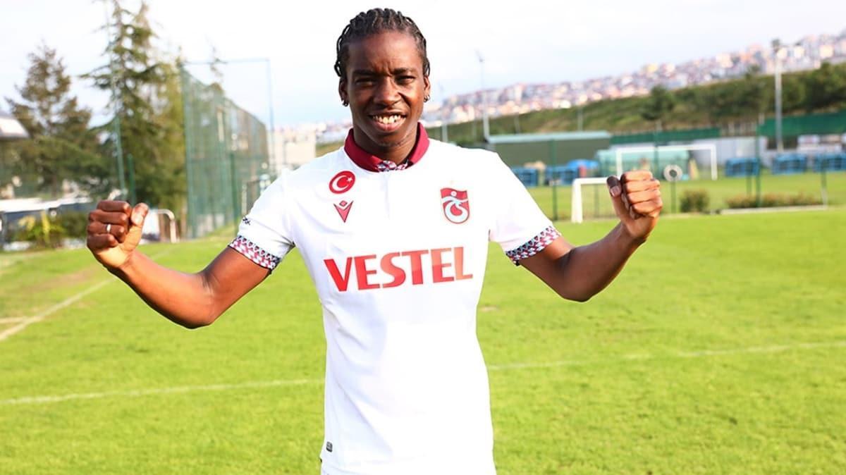 Trabzonspor, Fousseni Diabate ile 3+1 yıllık sözleşme imzaladı