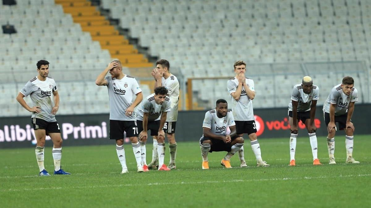 N'aptın Beşiktaş... Kartal'dan Avrupa'ya sürpriz veda