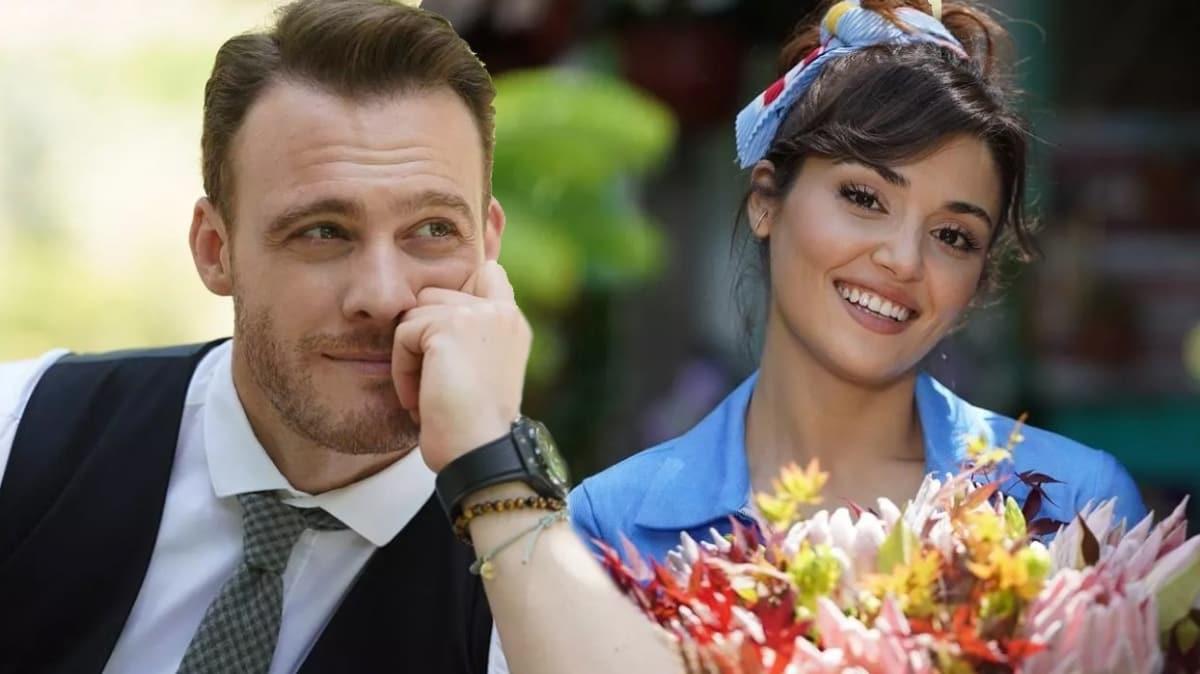 Sen Çal Kapımı'nın yıldızları Hande Erçel ve Kerem Bürsin rekora koşuyor!