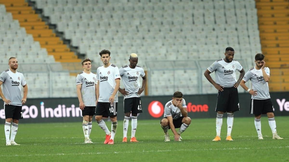 Beşiktaş, Avrupa'da galibiyeti unuttu