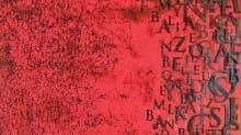 Kaligrafiyi resimle buluşturdu