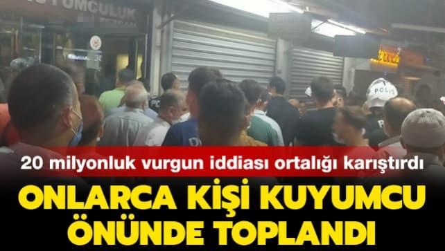 Kuyumcu tarafından dolandırılan 150 kişi ortalığı ayağa kaldırdı