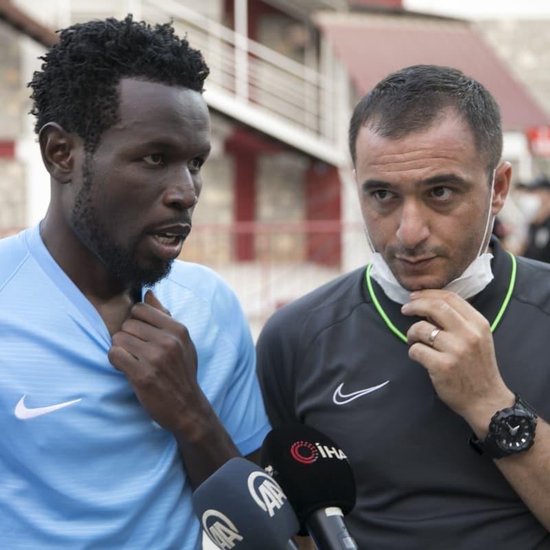 Diouf: 'Tanrı bize yardım etti, 3 puanı aldık'