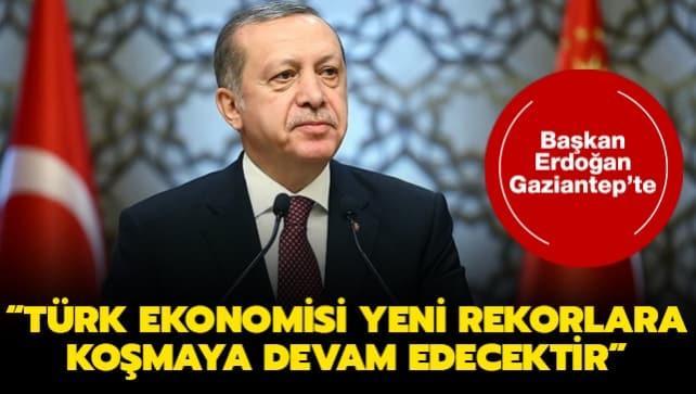 Başkan Erdoğan, 300 fabrikanın toplu açılış töreninde konuştu