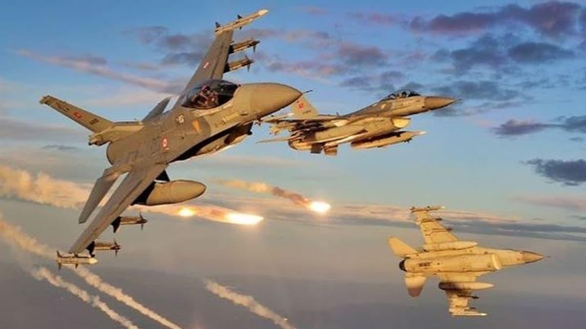 Irak kuzeyinde 3 PKK'lı terörist etkisiz hale getirildi
