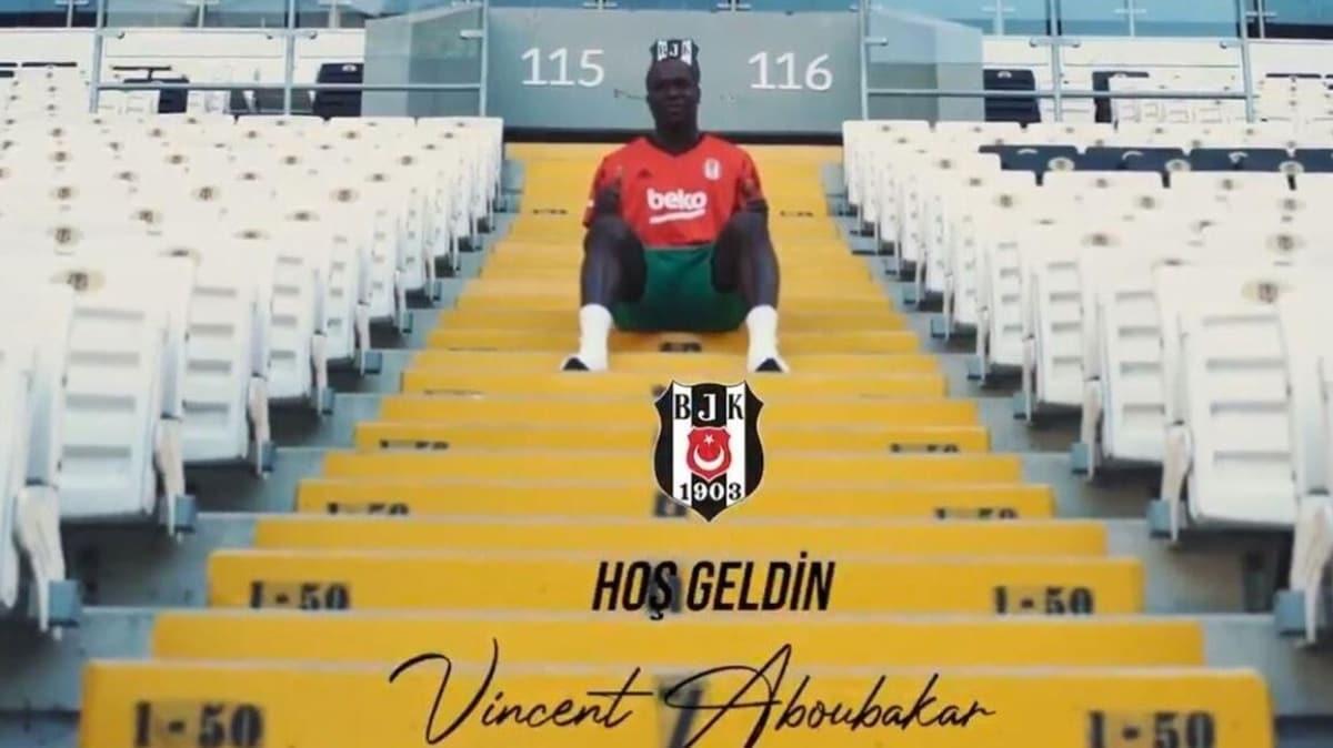 Beşiktaş Aboubakar ile sözleşme imzaladı