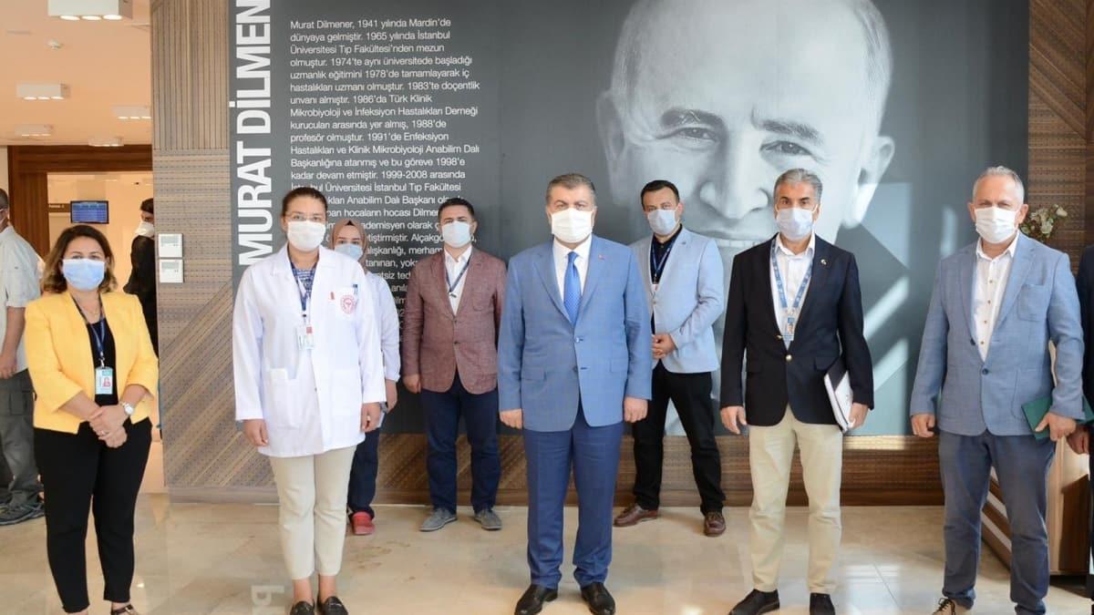 Sağlık Bakanı Koca İstanbul'da acil durum hastanelerini ziyaret etti