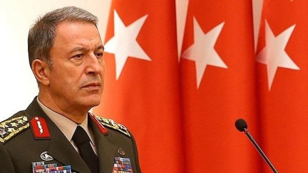 """Milli Savunma Bakanı Akar'dan """"Doğu Akdeniz"""" açıklaması"""