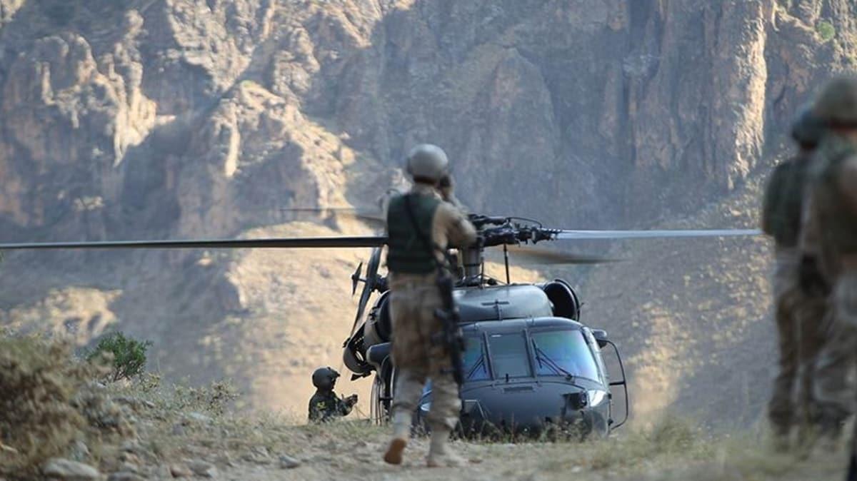 Yıldırım-2 Cilo Operasyonu kapsamında 2 terörist etkisiz hale getirildi