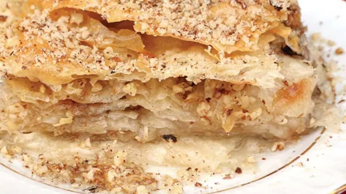 Bartın'ın tatlı böreği sofranıza lezzet katacak! Tatlı börek tarifi
