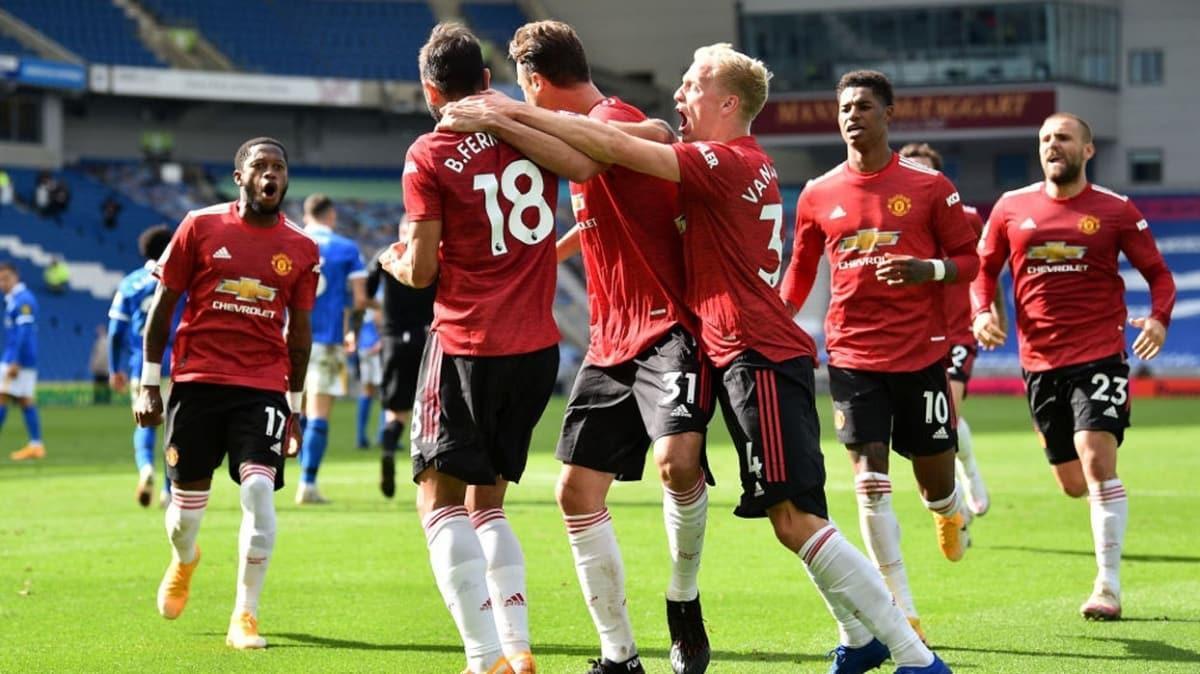 Tarihi maçta kazanan Manchester United