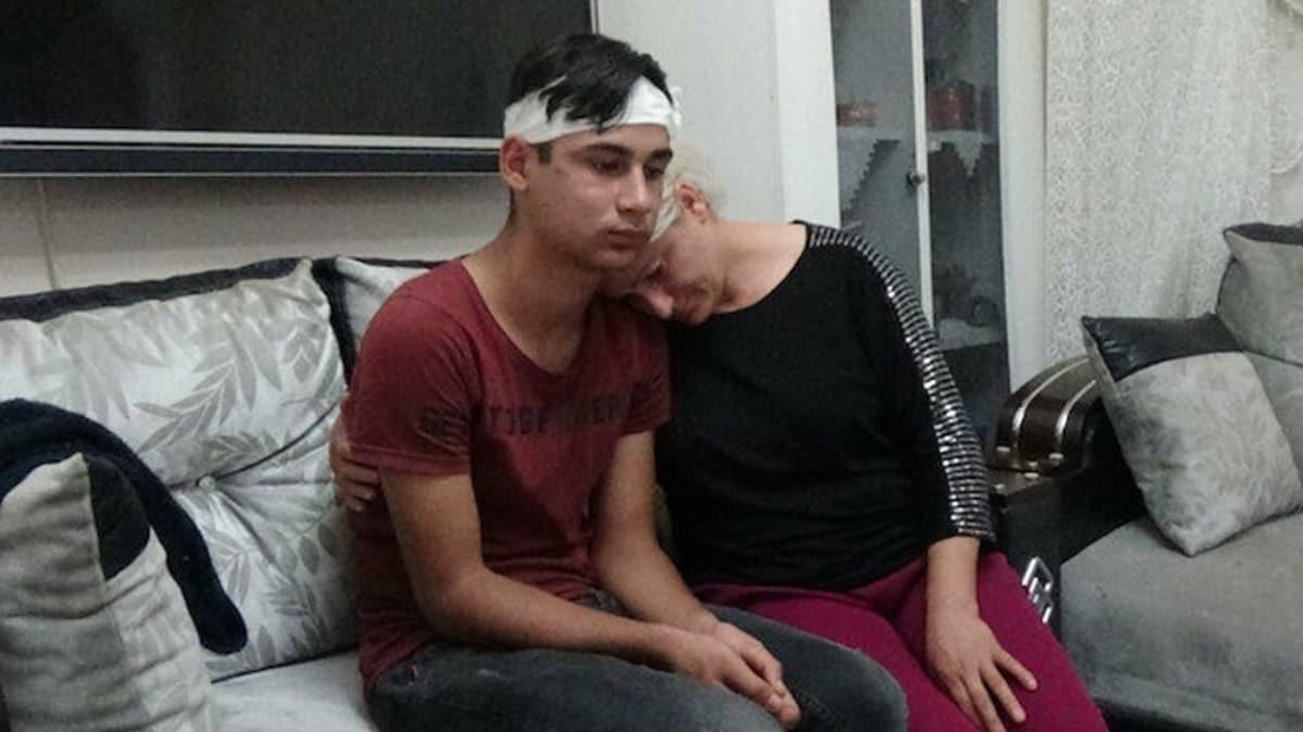 15 yaşındaki çocuk okul bahçesinde dehşeti yaşadı: Direğe bağlayıp 3 saat dövdüler